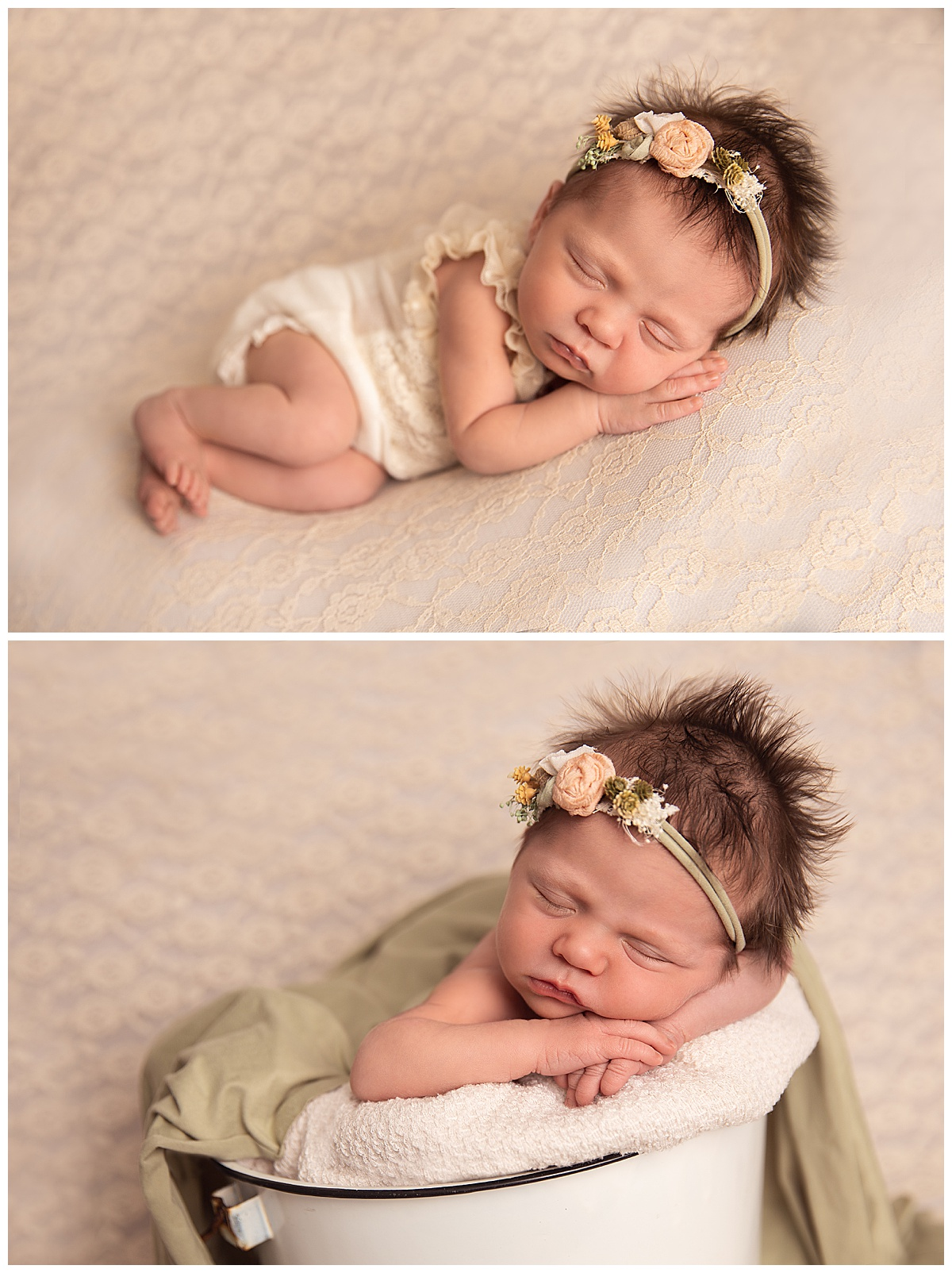 Massachusetts in-home newborn photographer